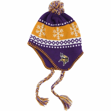 Minnesota Vikings Abomination Tassel Knit Hat