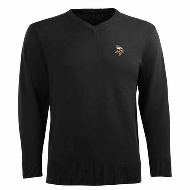 Minnesota Vikings Mens Ambassador Sweater (Team Color: Black)