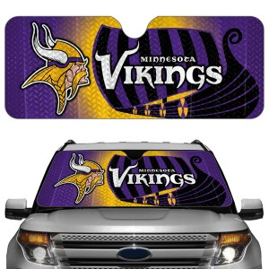 Minnesota Vikings Auto Sun Shade