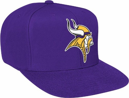 Minnesota Vikings Basic Logo Snap Back Hat