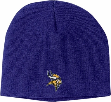 Minnesota Vikings Basic Logo Uncuffed Knit Cap