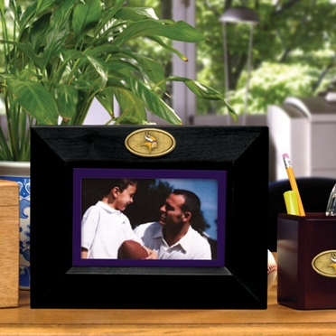 Minnesota Vikings BLACK Landscape Picture Frame