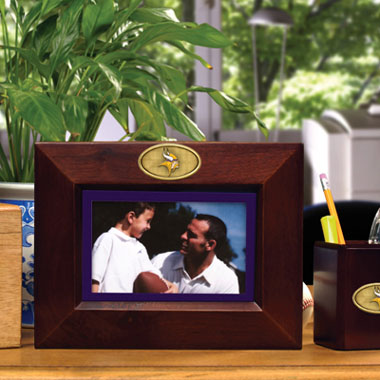 Minnesota Vikings BROWN Landscape Picture Frame