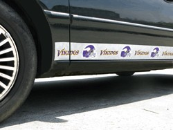 Minnesota Vikings Car Trim Magnets
