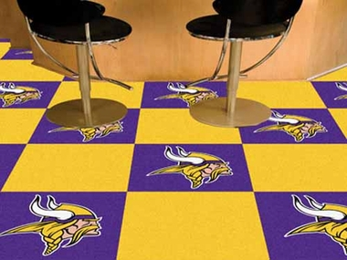 Minnesota Vikings Carpet Tiles