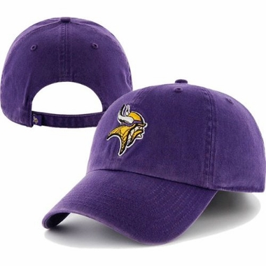Minnesota Vikings Cleanup Adjustable Hat