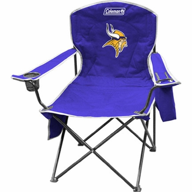 Minnesota Vikings Cooler Quad Tailgate Chair