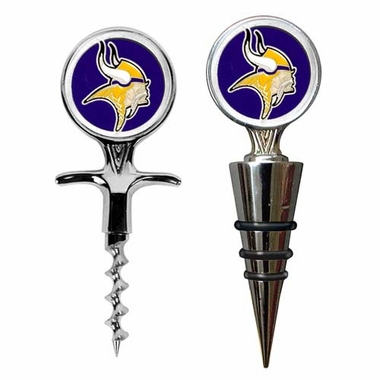 Minnesota Vikings Corkscrew and Stopper Gift Set