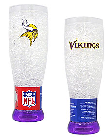 Minnesota Vikings Crystal Pilsner Glass