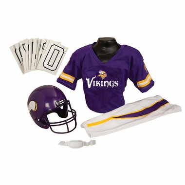 Minnesota Vikings Deluxe Youth Uniform Set