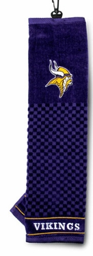Minnesota Vikings Embroidered Golf Towel