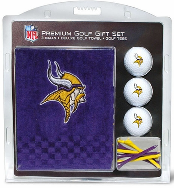 Minnesota Vikings Embroidered Towel Gift Set