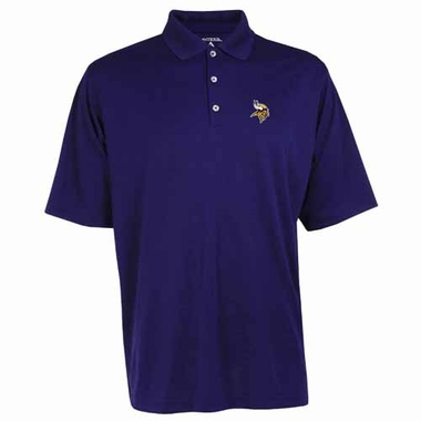 Minnesota Vikings Mens Exceed Polo (Team Color: Purple)