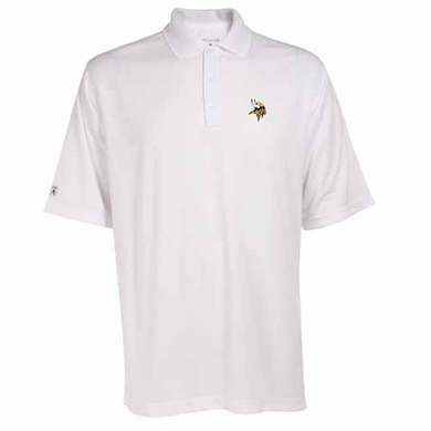 Minnesota Vikings Mens Exceed Polo (Color: White)