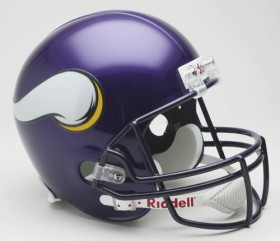 Minnesota Vikings Full Sized Replica Helmet