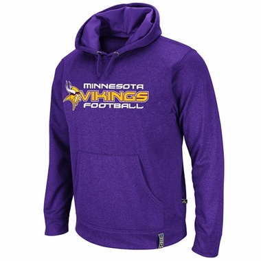 Minnesota Vikings Gridiron III Hooded Performance Sweatshirt