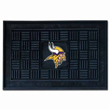 Minnesota Vikings Heavy Duty Vinyl Doormat