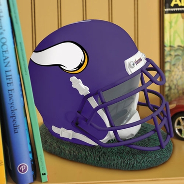 Minnesota Vikings Helmet Shaped Bank