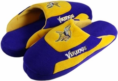 Minnesota Vikings Low Pro Scuff Slippers