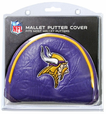 Minnesota Vikings Mallet Putter Cover