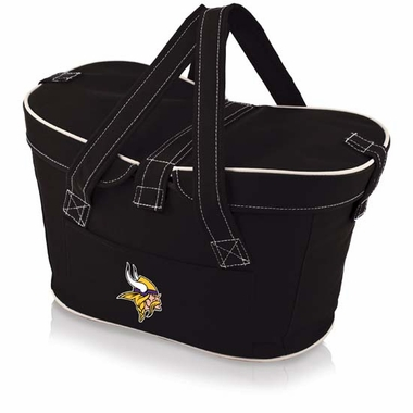 Minnesota Vikings Mercado Picnic Basket (Black)