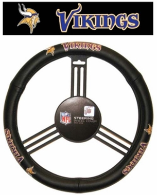 Minnesota Vikings Steering Wheel Cover - Mesh