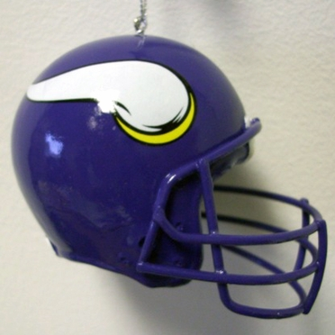 Minnesota Vikings Mini Helmet Ornament