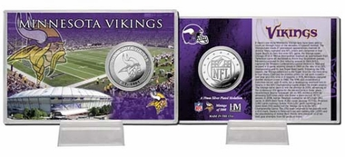 Minnesota Vikings Minnesota Vikings Silver Coin Card