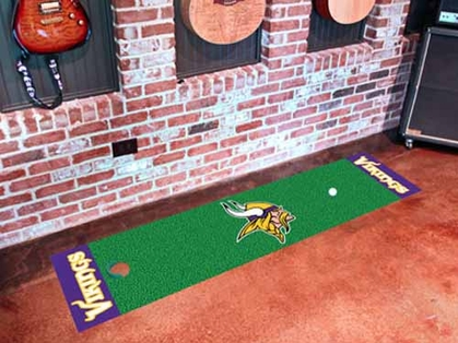Minnesota Vikings Putting Green Mat