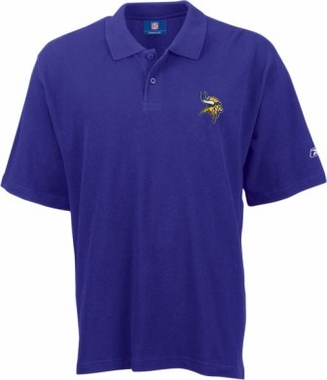 Minnesota Vikings Reebok Basic Polo Shirt