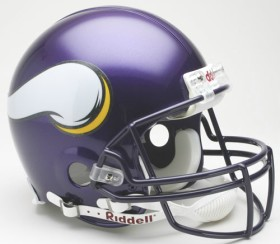 Minnesota Vikings Riddell Full Size Authentic Helmet