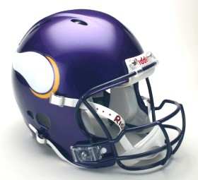 Minnesota Vikings Riddell Full Size Authentic Revolution Helmet
