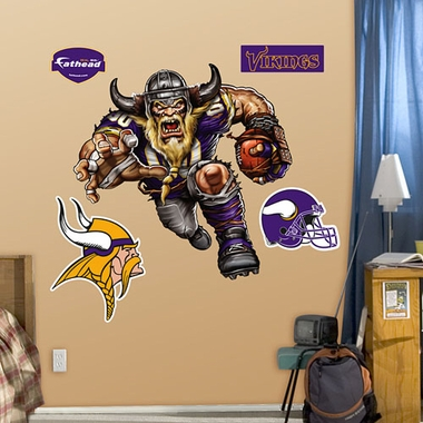Minnesota Vikings Running Back Fathead Wall Graphic
