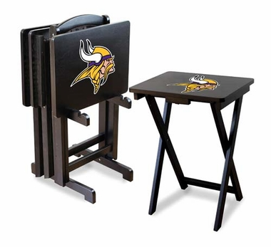 Minnesota Vikings Set of 4 Folding TV Trays