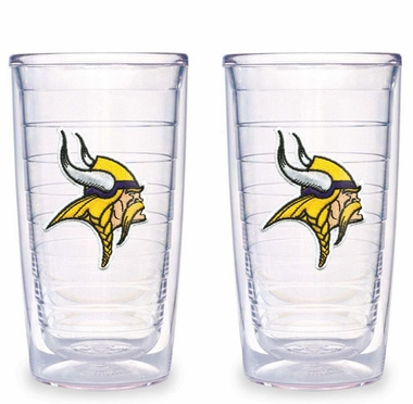 Minnesota Vikings Set of TWO 16 oz. Tervis Tumblers