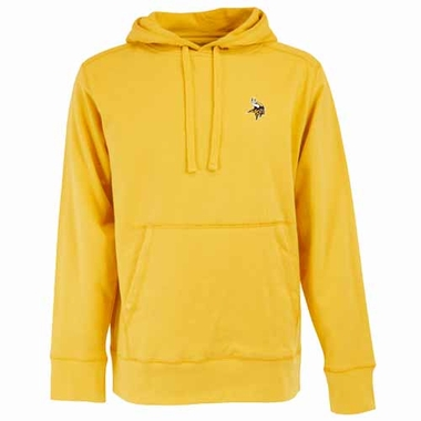 Minnesota Vikings Mens Signature Hooded Sweatshirt (Alternate Color: Gold)