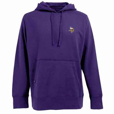 Minnesota Vikings Mens Signature Hooded Sweatshirt (Team Color: Purple)