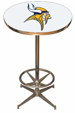 Minnesota Vikings Team Pub Table