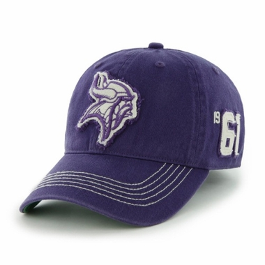 Minnesota Vikings Throwback Badger Franchise Flex Fit Hat