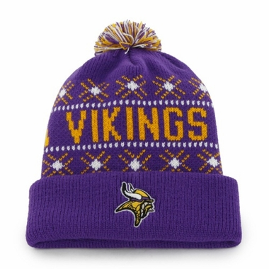 Minnesota Vikings Tip Off Cuffed Knit Hat