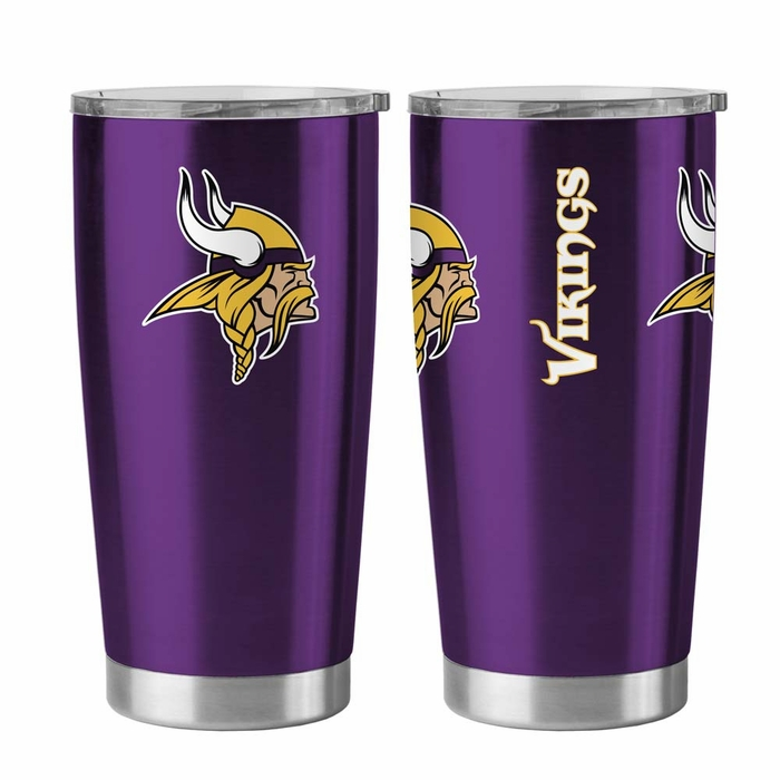 Minnesota Vikings Travel Tumbler 20 Oz Ultra