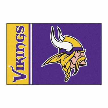 Minnesota Vikings Uniform Inspired 20 x 30 Rug
