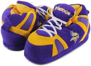 Minnesota Vikings UNISEX High-Top Slippers - Large