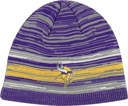 Minnesota Vikings Vintage Heathered Cuffless Knit Hat