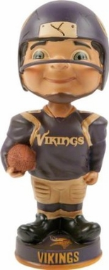 Minnesota Vikings Vintage Retro Bobble Head