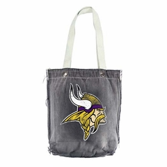 Minnesota Vikings Vintage Shopper (Black)