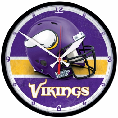 Minnesota Vikings Wall Clock