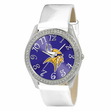 Minnesota Vikings Women's Glitz Watch