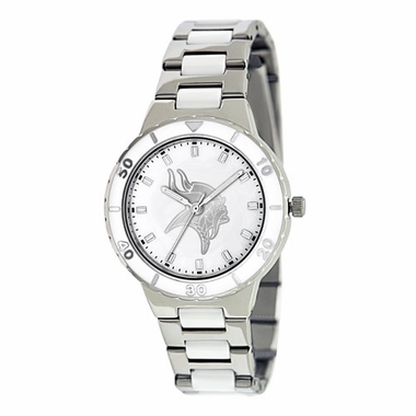 Minnesota Vikings Women's Pearl Watch