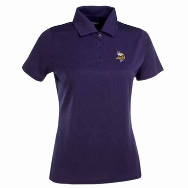 Minnesota Vikings Womens Exceed Polo (Team Color: Purple)